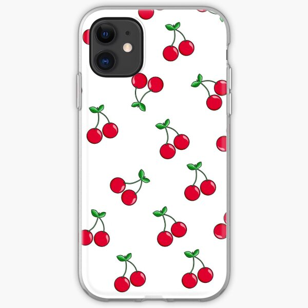 Cherries iPhone Soft Case