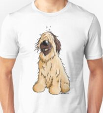Happy Briard Cartoon  Unisex T-Shirt