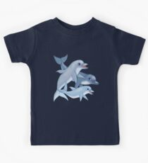 Dolphin Family Kids Tee