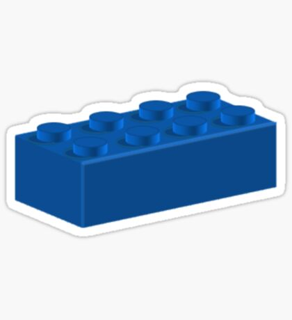 2x4 Brick Sticker