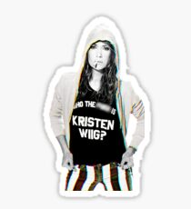 Who the F is Kristen Wiig Sticker