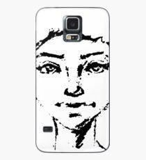Female Portrait Case/Skin for Samsung Galaxy
