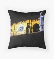 Don quijote Mapping Throw Pillow