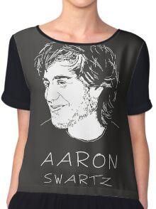 Aaron Swartz Tribute Art - Internet's Own Boy Chiffon Top