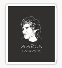 Aaron Swartz Tribute Art - Internet's Own Boy Sticker