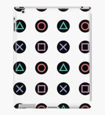 Play with Playstation Controller Buttons iPad Case/Skin