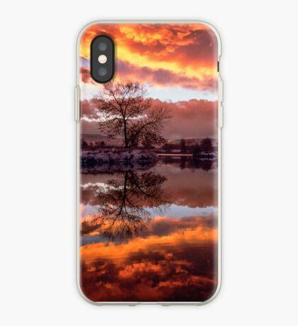 Rolling Thunder Sunset iPhone Case