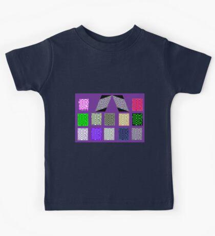 Mondrain on Mauve Kids Clothes