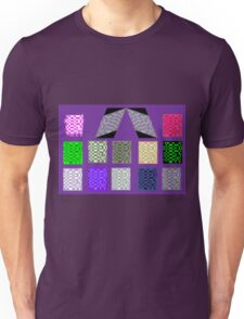 Mondrain on Mauve T-Shirt