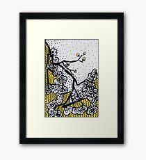 Lucky Twig - Kerry Beazley Framed Print