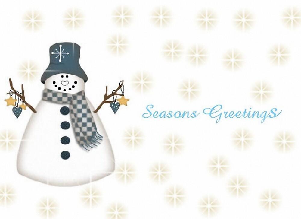 Snowman by brandie