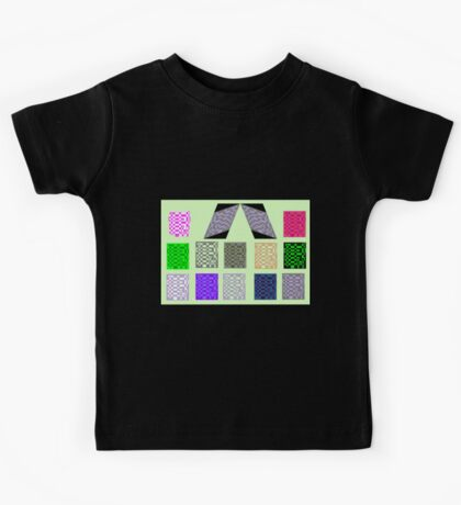 Mondrain on Green Kids Clothes