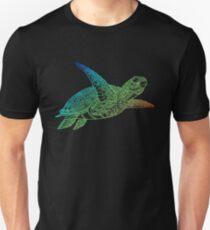 Colorful Vivid Sea Turtle  Unisex T-Shirt