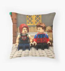 Peter & MJ Throw Pillow