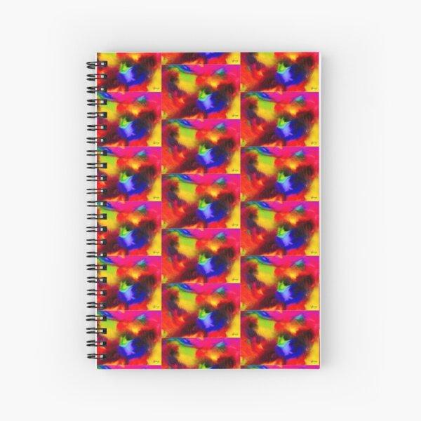 Bright Lights No1. R (Oils) Spiral Notebook