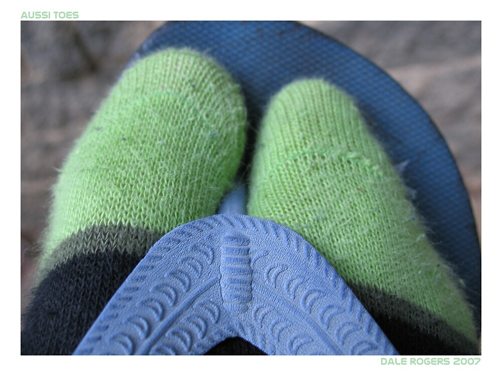 Aussi Toes by Photo Rangers