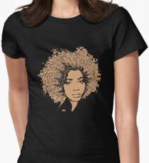 Afro Word Art Natural Hair T-Shirt for Black Women T-Shirt