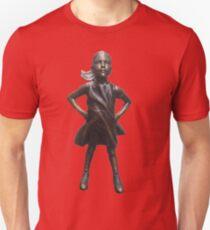 Fearless Girl Statue Unisex T-Shirt