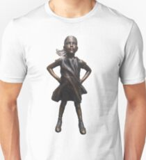Fearless Girl Statue Unisex T-Shirt