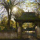 Bidford Church of St Laurence in Autumn by ArtStudioV