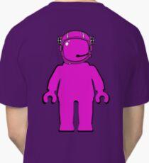 Banksy Style Astronaut Minifigure Classic T-Shirt