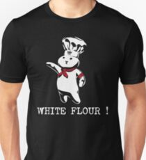 New White Dough Flour Parody Funny  T-Shirt