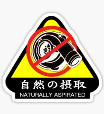 JDM - Naturally Aspirated Sticker