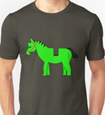 Interpretation of a Minifig Horse Unisex T-Shirt