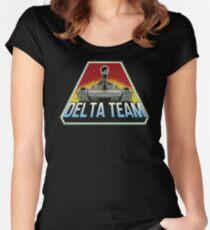 Delta Team Accessories Women's Fitted Scoop T-Shirt