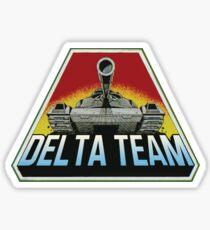 Delta Team Accessories Sticker