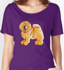 Fluffy Chow Chow Women's Relaxed Fit T-Shirt