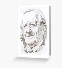 J. R. R. Tolkien Greeting Card