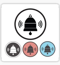 old bell icons Sticker