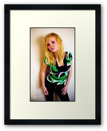 Sanna in green by Pestbarn