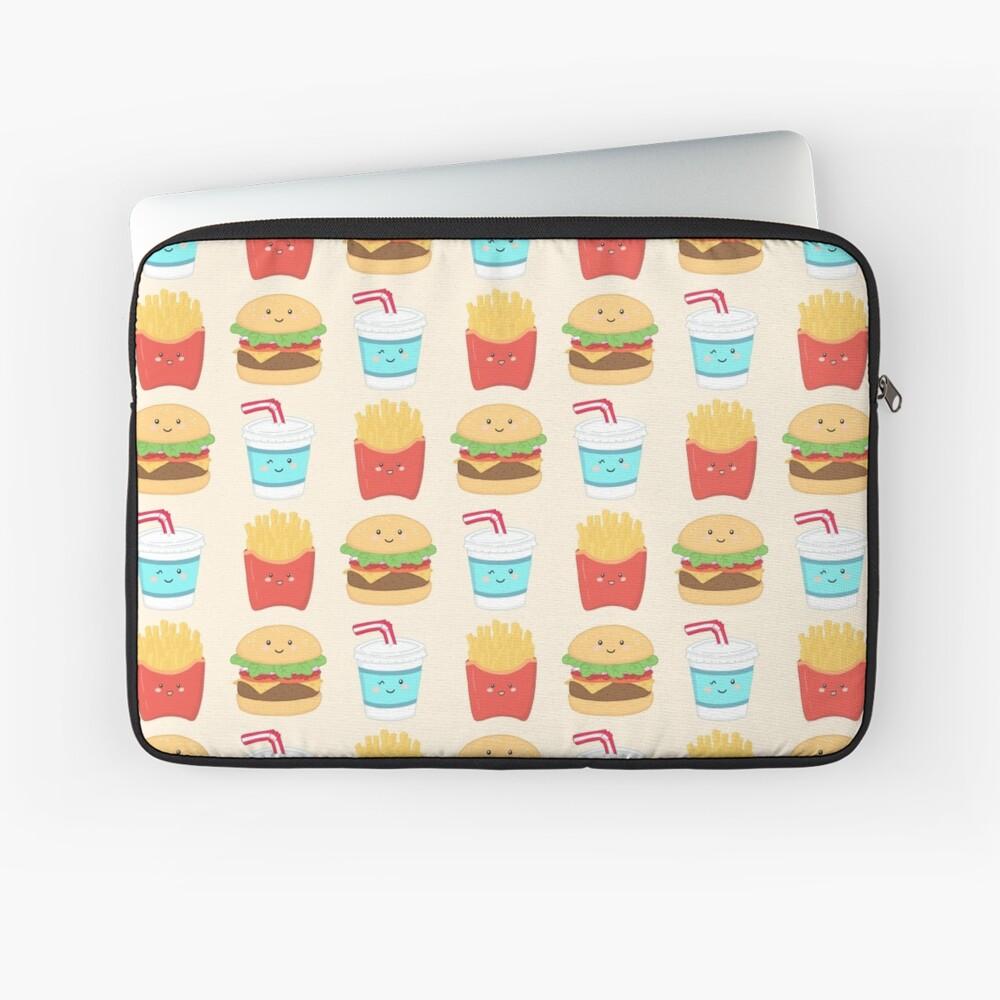 burger buddies repeating pattern Laptop Sleeve