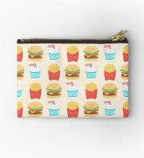 Burger Buddies Muster zu wiederholen Täschchen