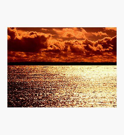 Double Orange Photographic Print