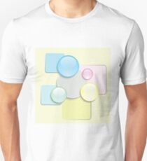 abstract glass icons Unisex T-Shirt
