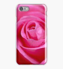 Macro Photography - Pink Rose iPhone Case/Skin