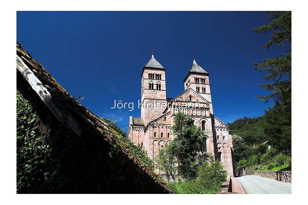 Murbach Abbey by Jörg Holtermann