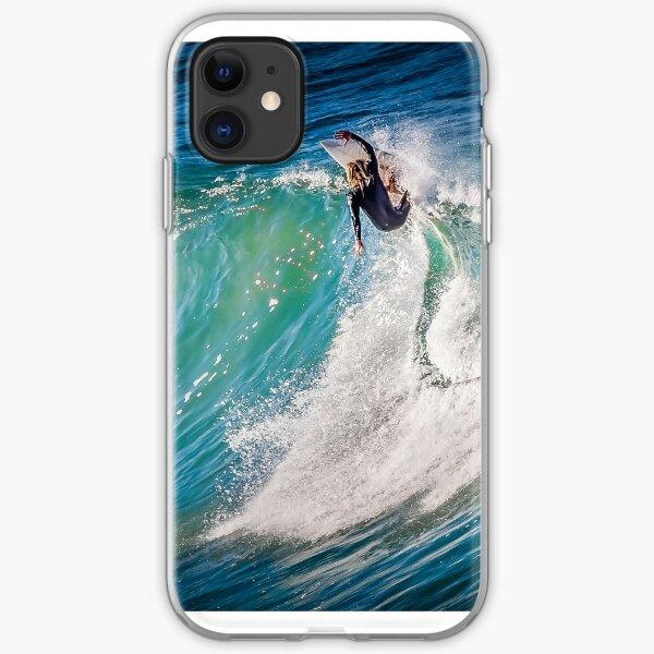 Bells Beach Carving iPhone Soft Case
