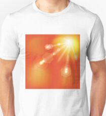 sun autumn background  Unisex T-Shirt