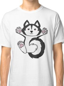 This Husky needs Belly Rubs Classic T-Shirt