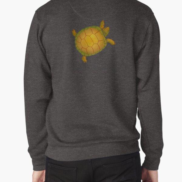 Turtle - Slowly but Surely - Lazy Animals Pullover Sweatshirt