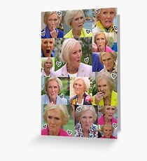 Mary Berry Greeting Card