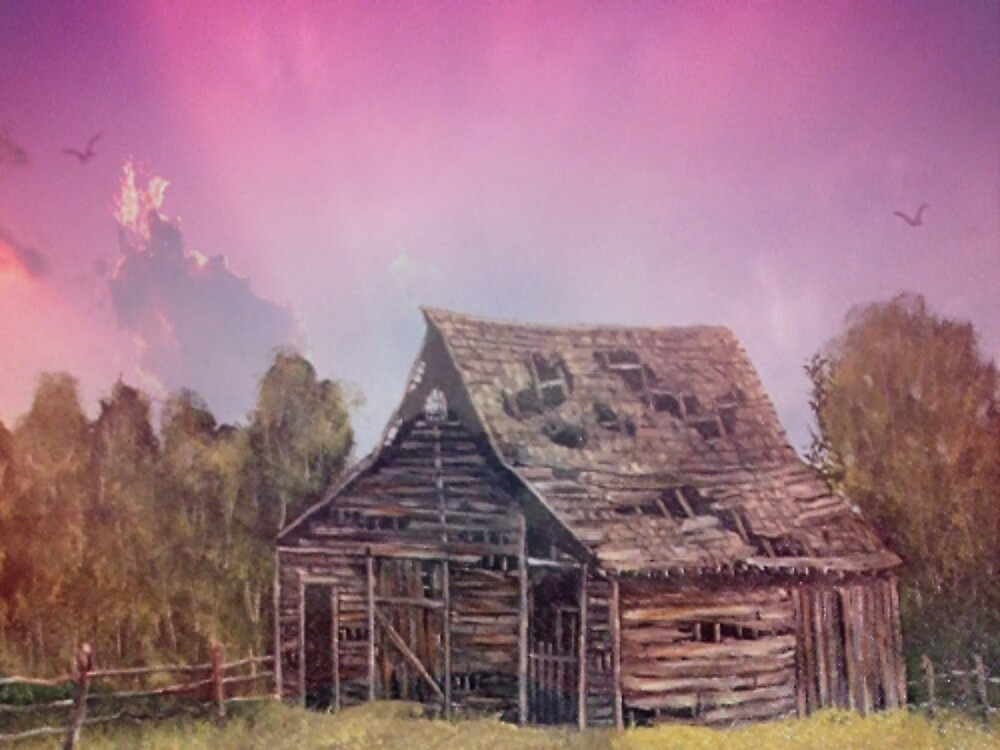 old cabin by conilouz