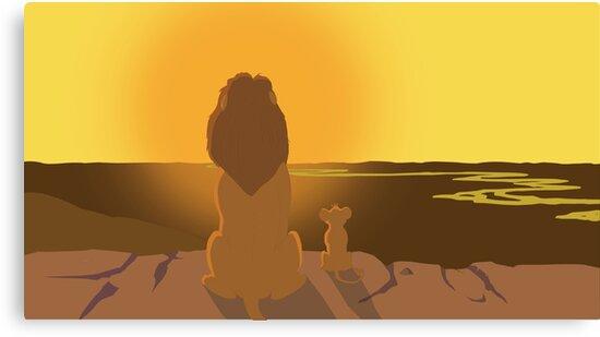 Lion King - Mufasa and Simba by Tomer434