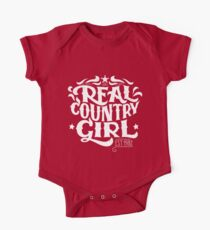 Real Country Girl One Piece - Short Sleeve