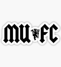 MUFC Sticker