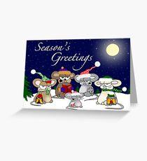 Li'l Carolers Greeting Card